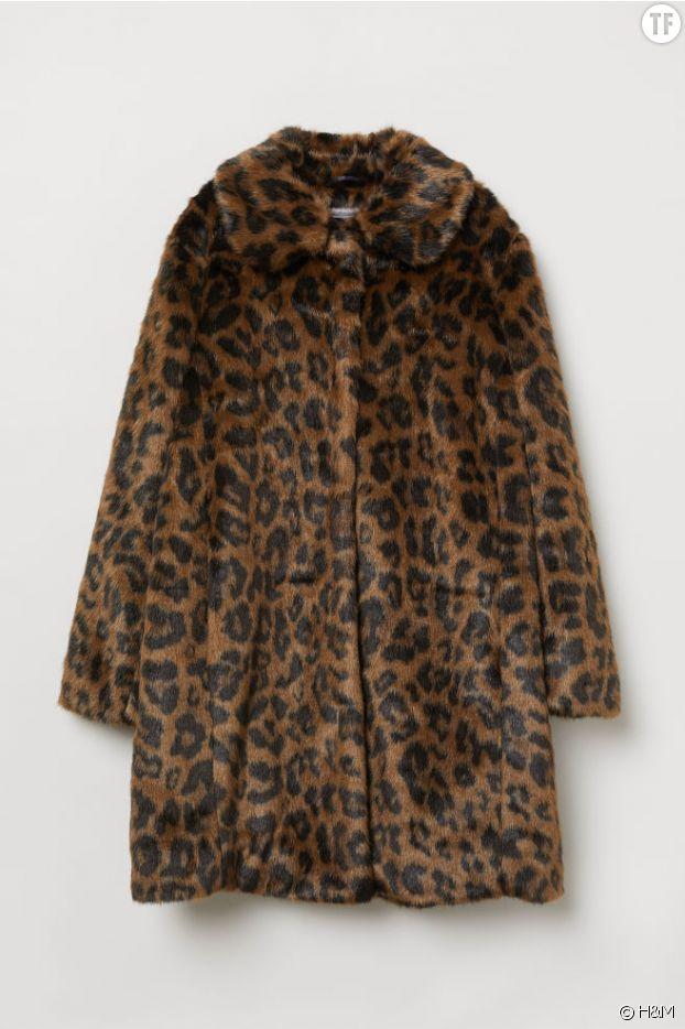 Manteau léopard H&M