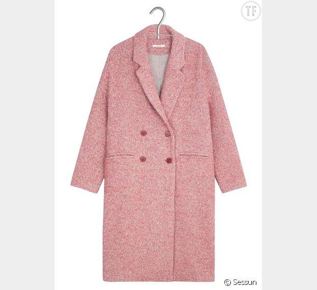 Manteau rose bonbon, Sessun