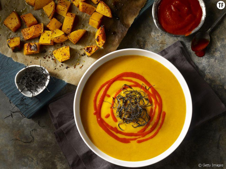 La recette de la soupe à la courge