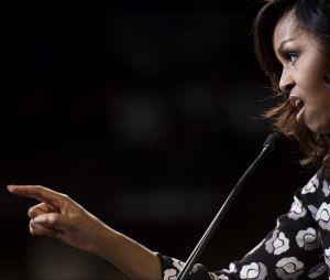 Michelle Obama pendant la campagne pour Hillary Clinton en octobre 2016
