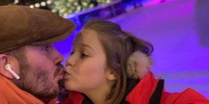 David Beckham embrasse sa fille sur la bouche : les internautes réagissent