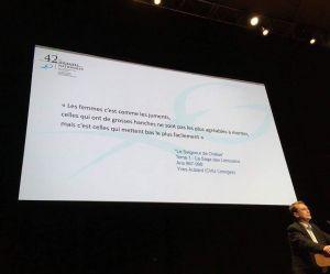 """""""Les femmes, c'est comme les juments"""" : la diapo d'un congrès de gynécologie scandalise"""