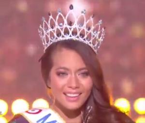 Capture d'écran de la soirée Miss France 2019