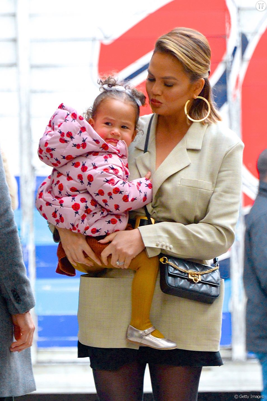 Chrissy Teigen et sa fille Luna