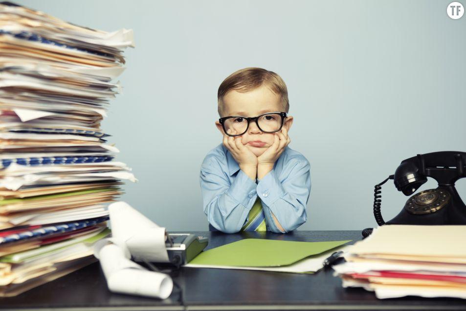 Le stress des parents au travail touche aussi les enfants