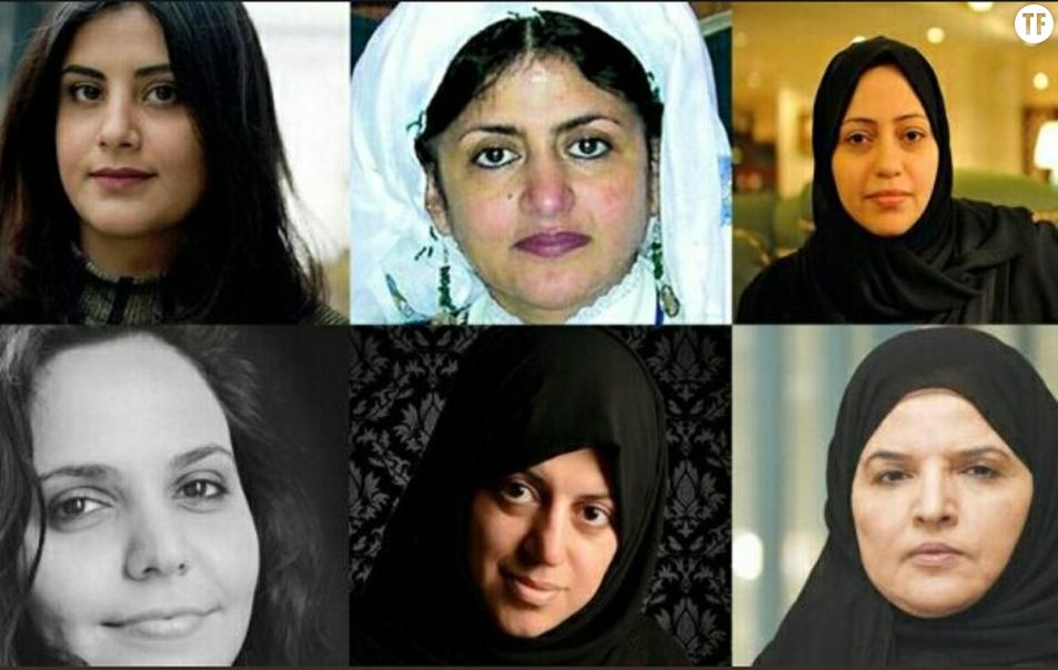 Les six militantes saoudiennes emprisonnées