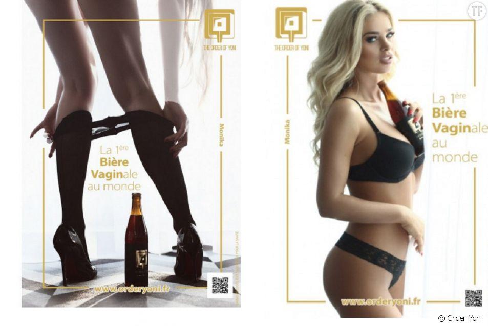 La bière sexiste la Cyprine