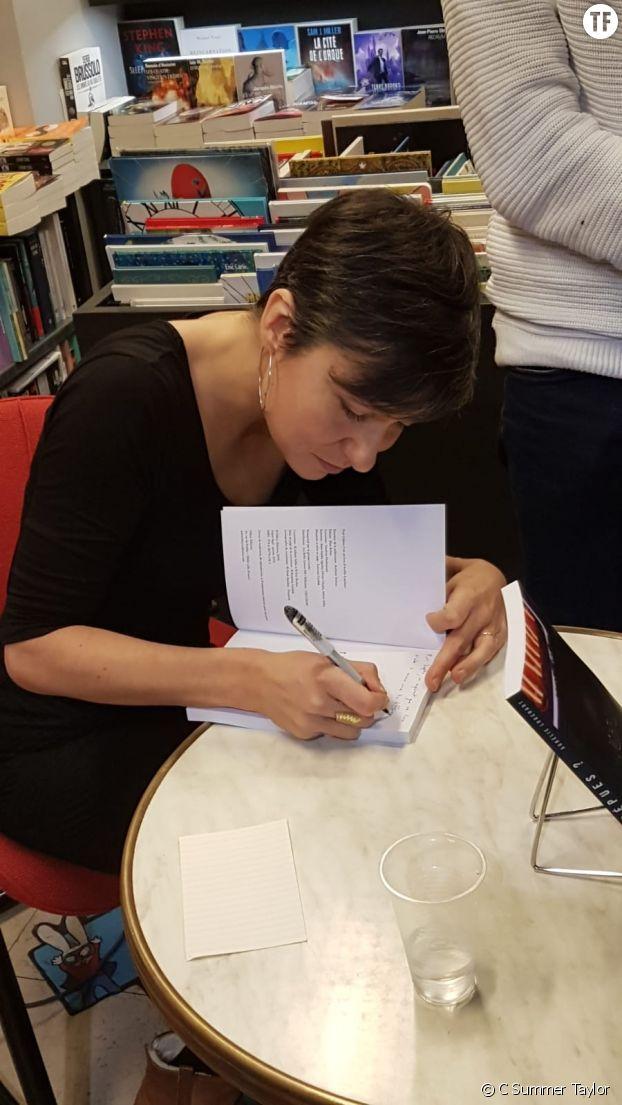 L'autrice Aurélie Louchart