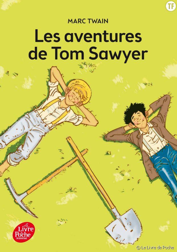 """""""Les aventures de Tom Sawyer"""", le proto Bart Simpson."""