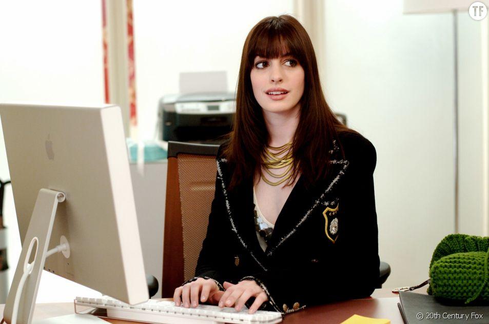 "Anne Hathaway dans ""Le diable s'habille en Prada"""