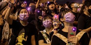 Les manifestantes hongkongaises victimes de cyber-harceleurs sexistes