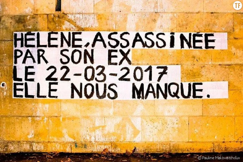 Dans toute la France, les noms des victimes s'affichent sur les murs.