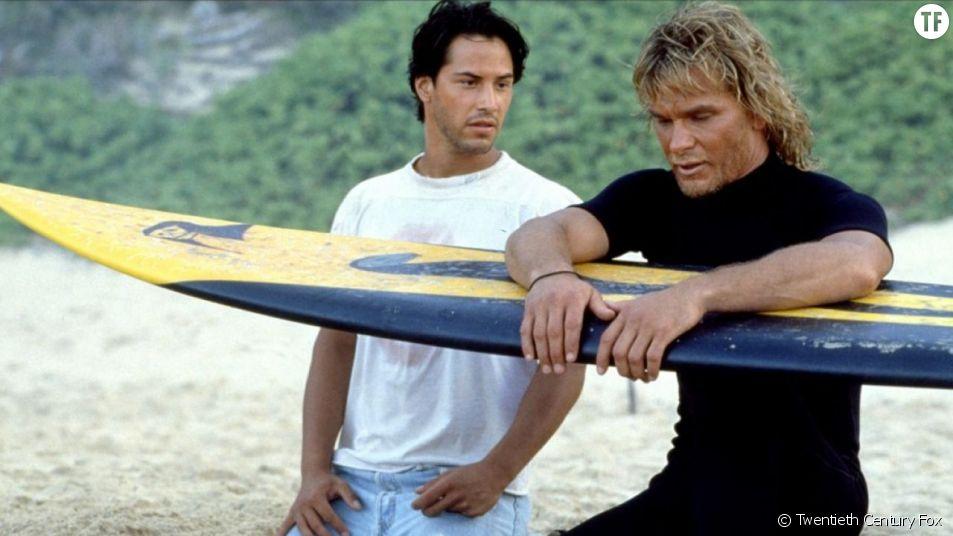 """""""Point Break"""", cette grande romance entre deux mecs."""