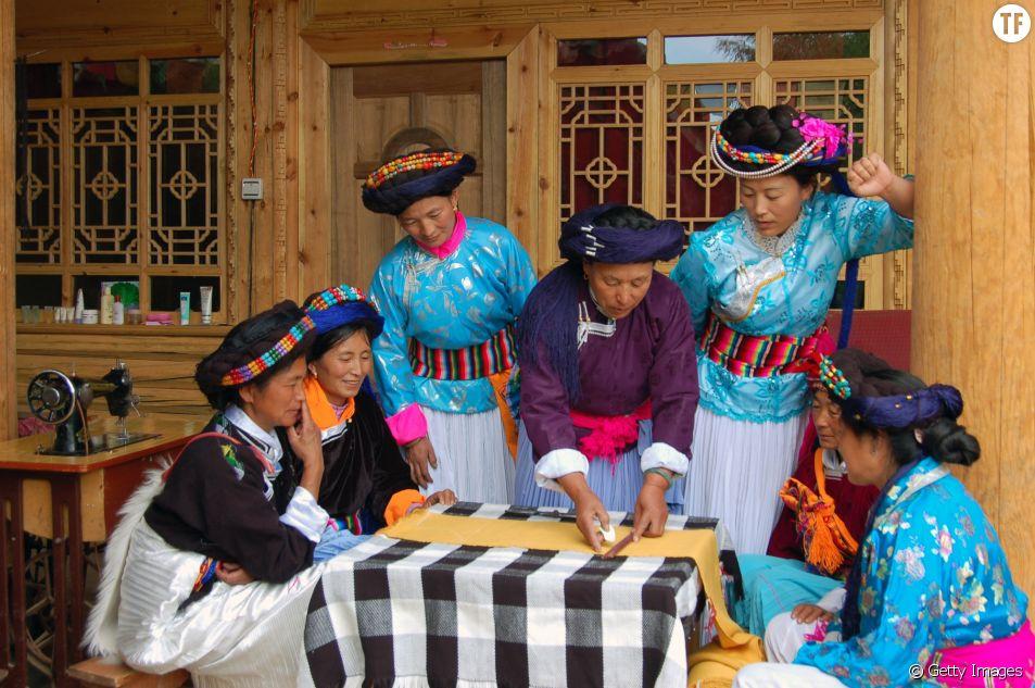 Les femmes de Mosuo en Chine