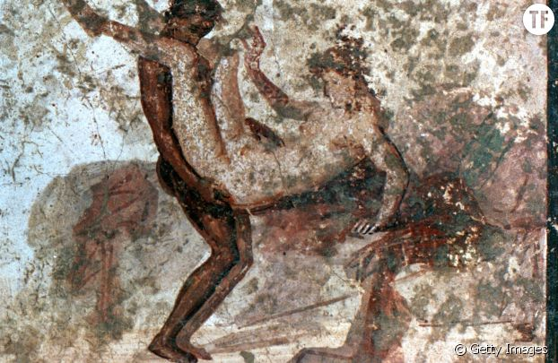 Les fresques murales érotiques de Pompéi.