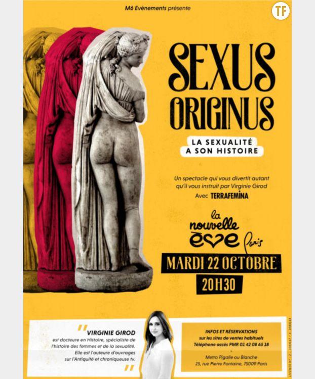 """""""Sexus Originus"""", un spectacle sur la sexualité dans la Rome antique."""