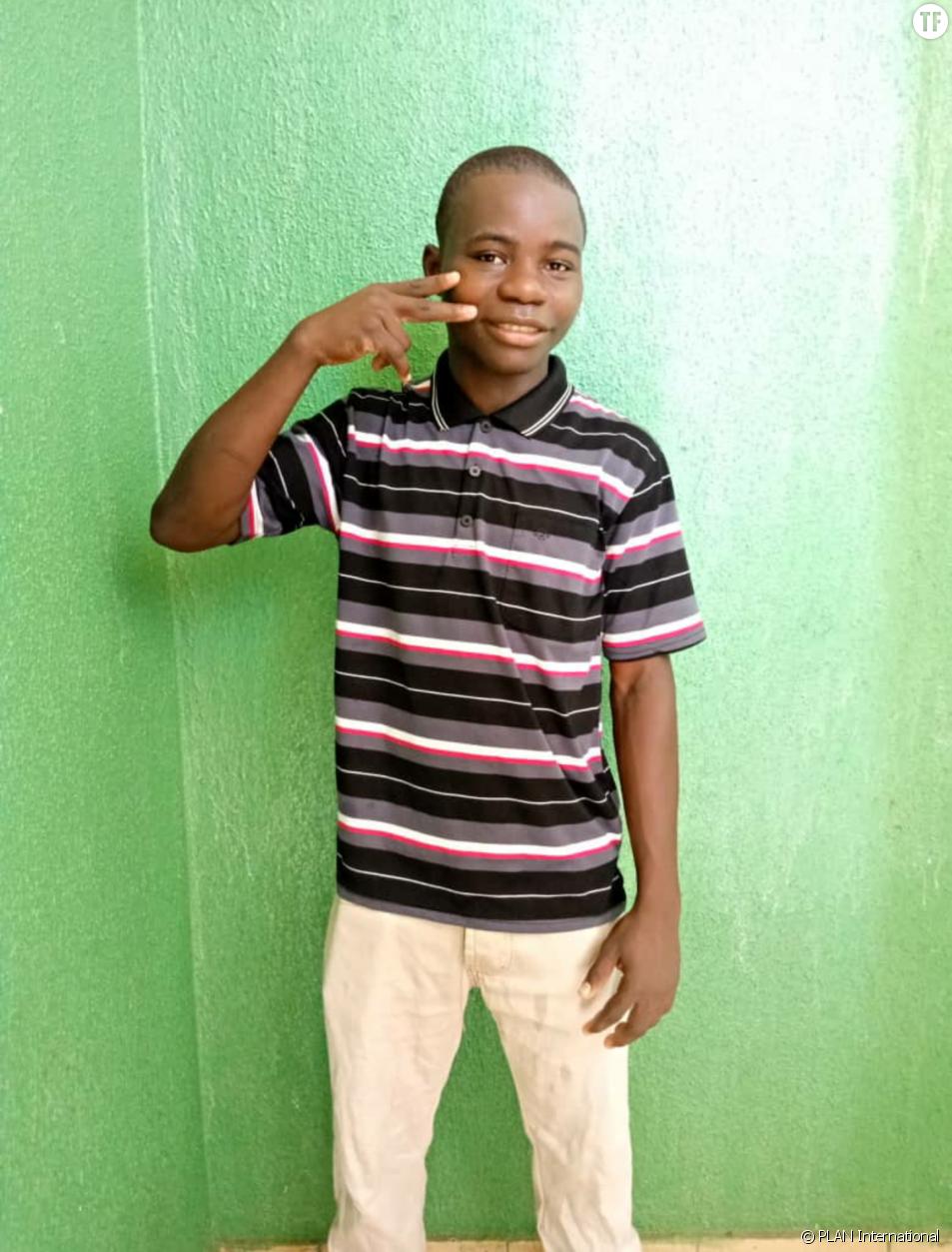 Wahabou, jeune militant du Burkina Faso en faveur des droits des filles