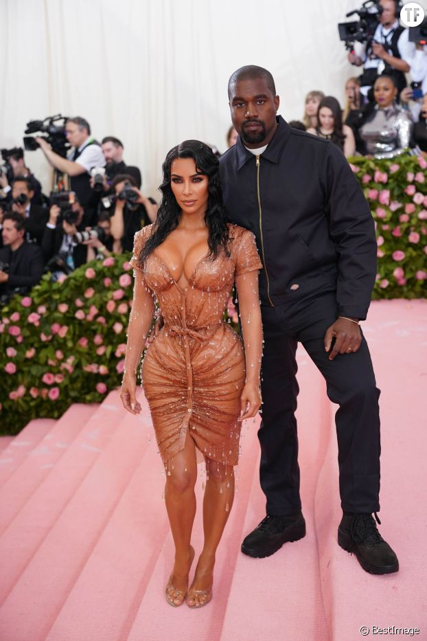 Kim Kardashian et Kanye West au Met Gala le 6 mai 2019.