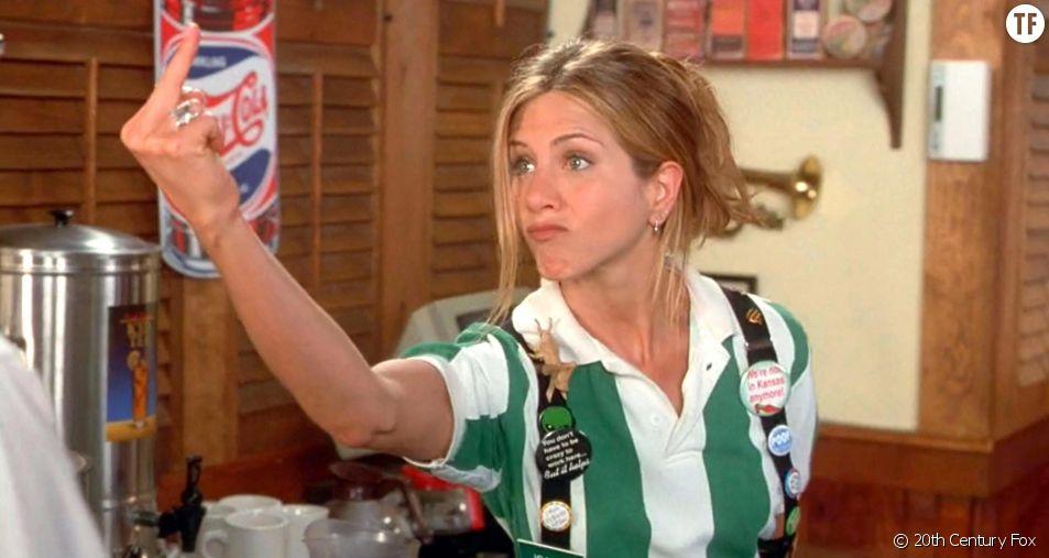 "Le fuck de Jennifer Aniston dans ""Office Space"""