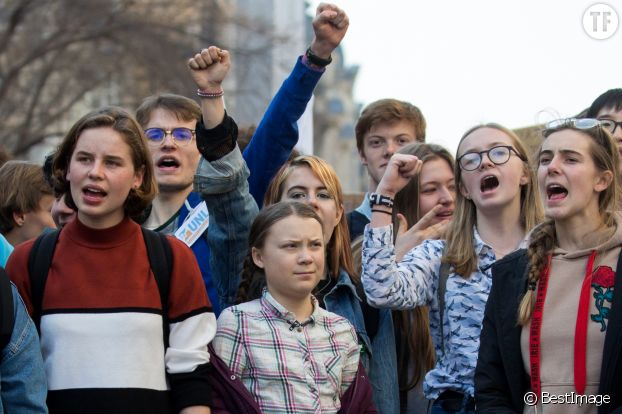 """Youth for Climate"", et l'emblématique Greta Thunberg."
