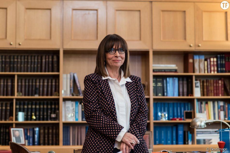 Ekaterini Sakellaropoulou devient la première présidente de la République grecque