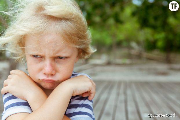 L'enfant pourri gâté es très capricieux.