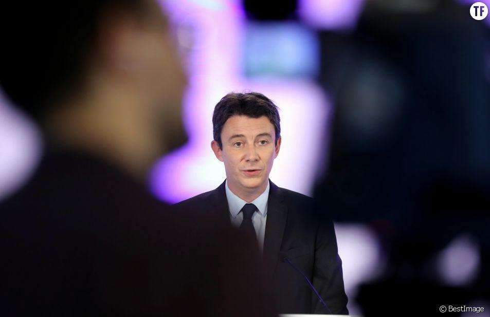 """Benjamin Griveaux, le candidat victime de """"revenge porn""""."""