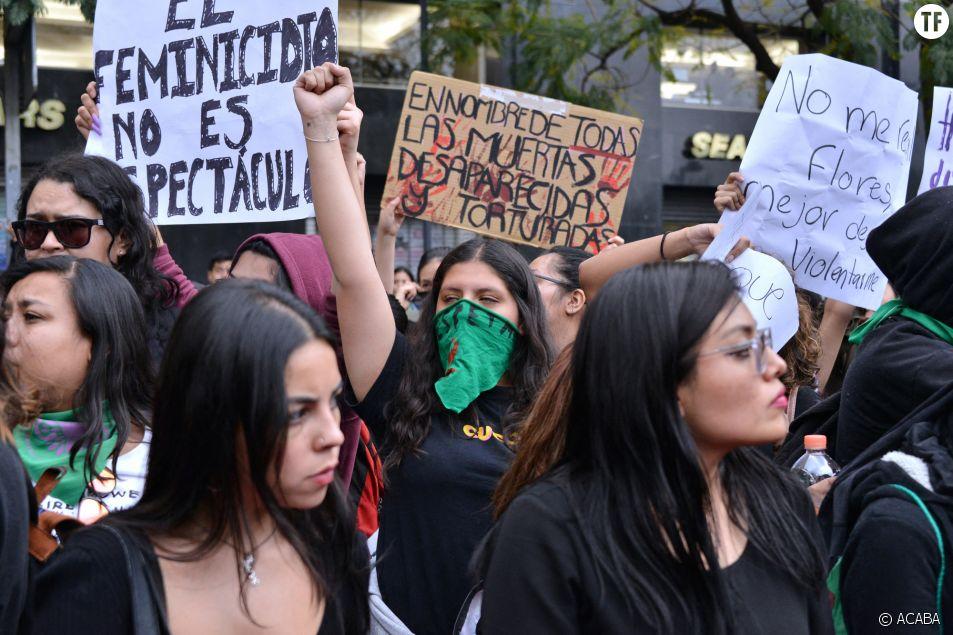 Au Mexique, les femmes se mobilisent à la mémoire d'Ingrid Escamilla.
