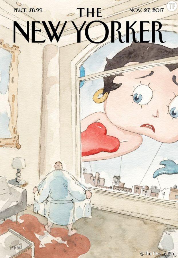 La magnifique Une du New Yorker : Betty Boop scande #MeToo.