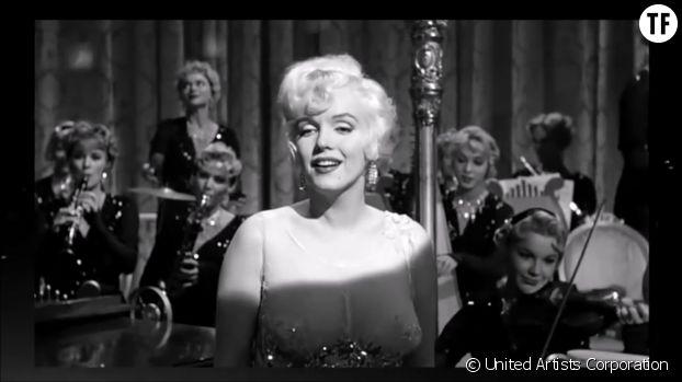 Marilyn Monroe, Betty Boop de chair et d'os ?