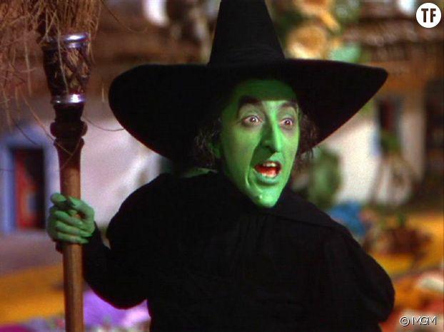 """Le vert est une couleur de sorcière, in """"Le magicien d'Oz"""""""