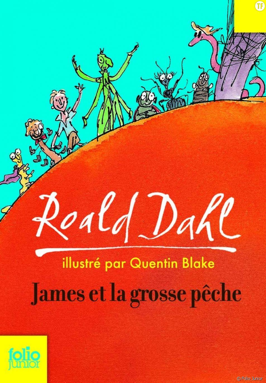 """""""James et la grosse pêche"""", classique de la littérature d'aventures."""
