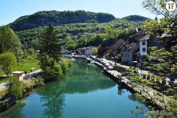 Chanaz, France.