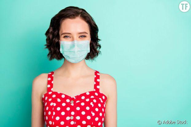 Porter un masque quand il fait chaud