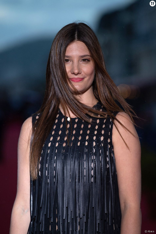 L'actrice Alice Pol au Festival du film de Cabourg, 16 juin 2019