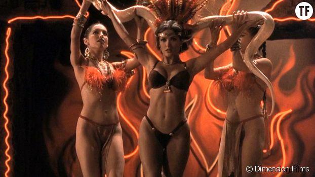 La lap dance de Salma Hayek, dans Une nuit en enfer.
