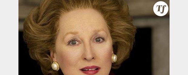 Meryl Streep métamorphosée en Margaret Thatcher