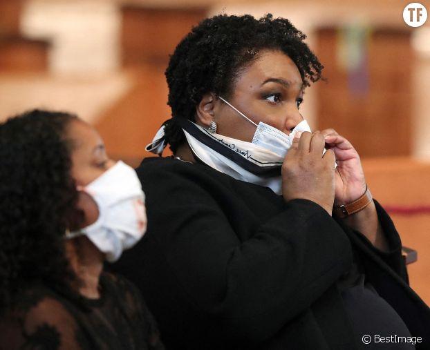 L'afroaméricaine Stacey Abrams, l'une des étoiles montantes du parti démocrate.