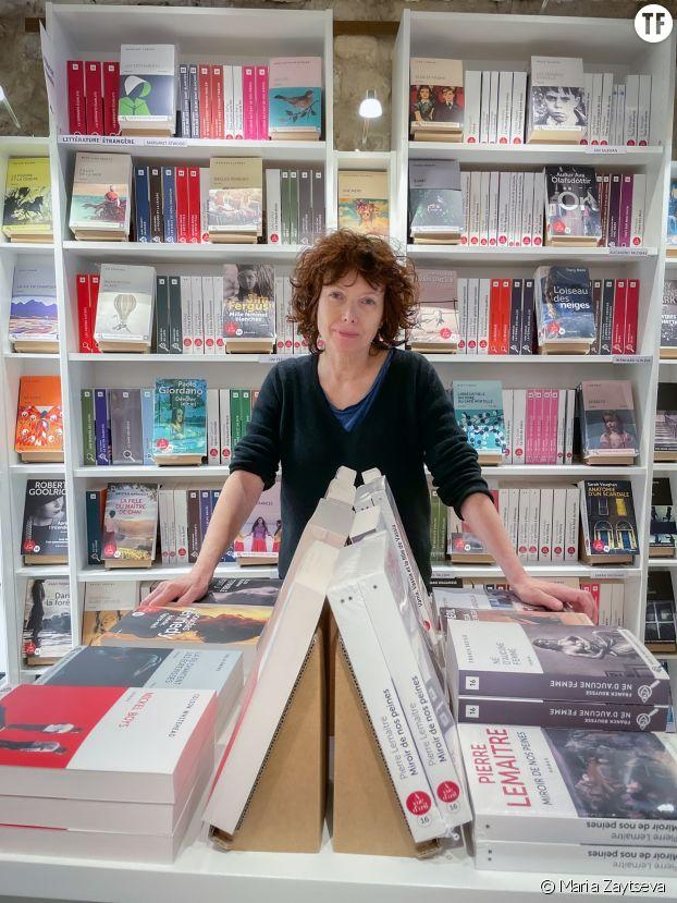 Agnès Binsztok, libraire et éditrice de livres en grands caractères