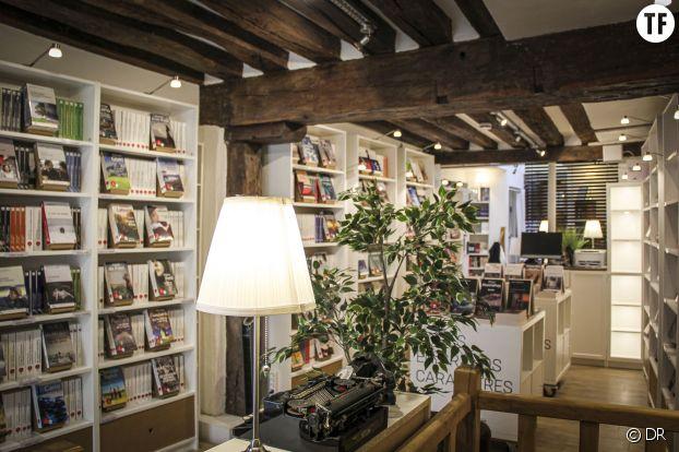 La librairie des grands caractères à Paris