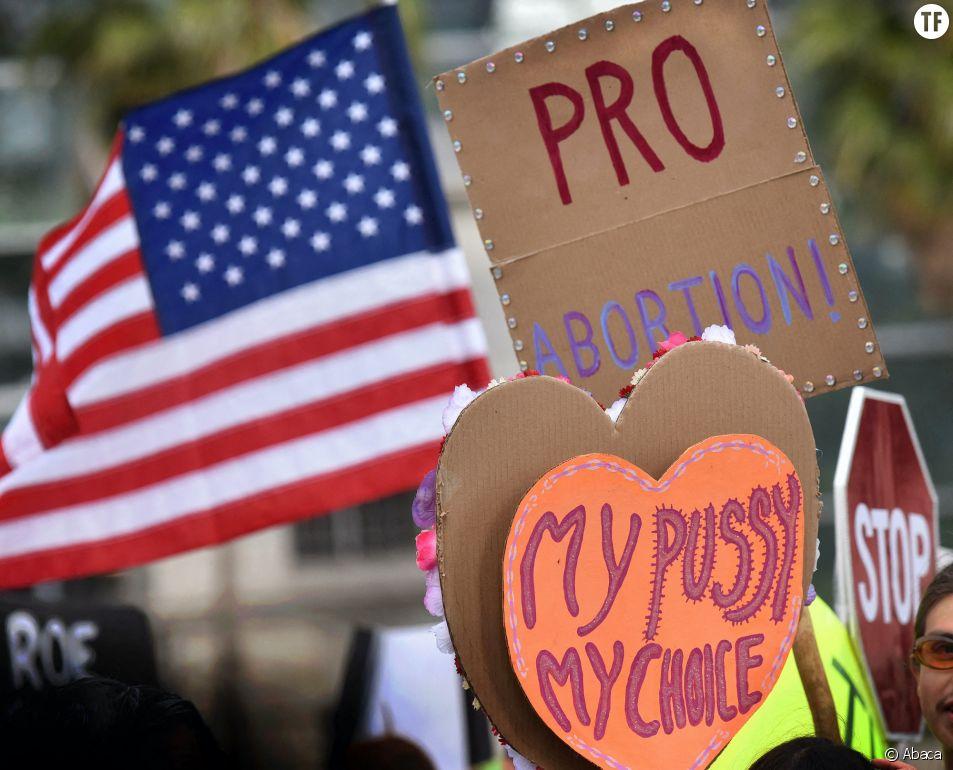 Une manifestation pro-avortement à Los Angeles, en mai 2019.
