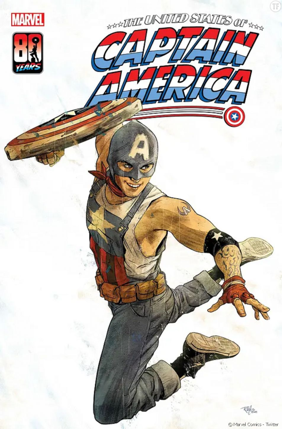 Marvel Comics va proposer un Captain America gay à l'occasion du Pride Month.
