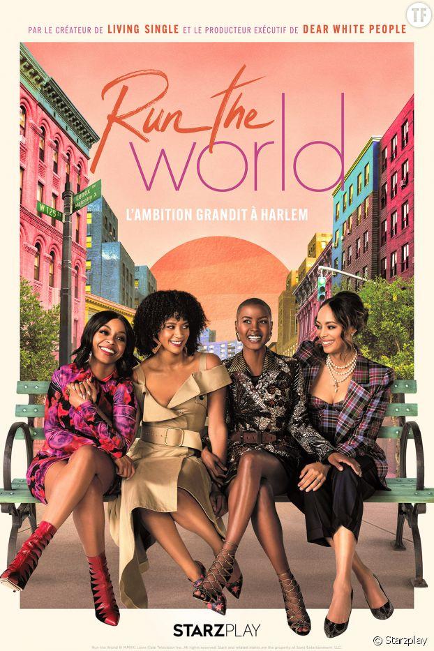 """Affiche de la série """"Run The World"""""""