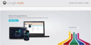 Google Music : le nouveau concurrent d'Amazon et iTunes