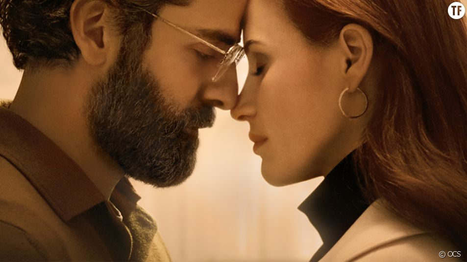 """Oscar Isaac et Jessica Chastain dans """"Scenes From a Marriage"""""""