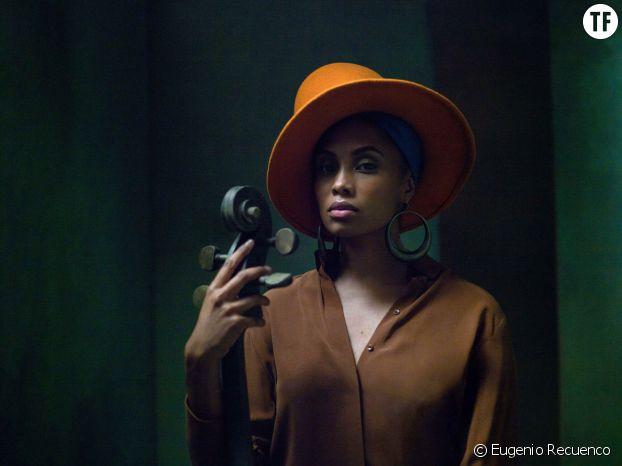 La chanteuse Imany en 2021