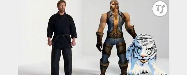 Quand Chuck Norris fait la pub de World of Warcraft Cataclysm – Vidéo