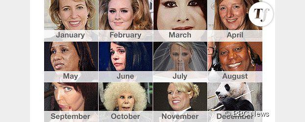 BBC : Nafissatou Diallo, Adele et le Panda Tian Tian, visages féminins de 2011