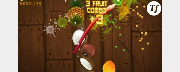 """Un chat joue  à """"Fruit Ninja"""" sur iPad - Vidéo"""