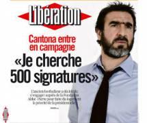 2012 : Éric Cantona dans la course à l'Élysée ?
